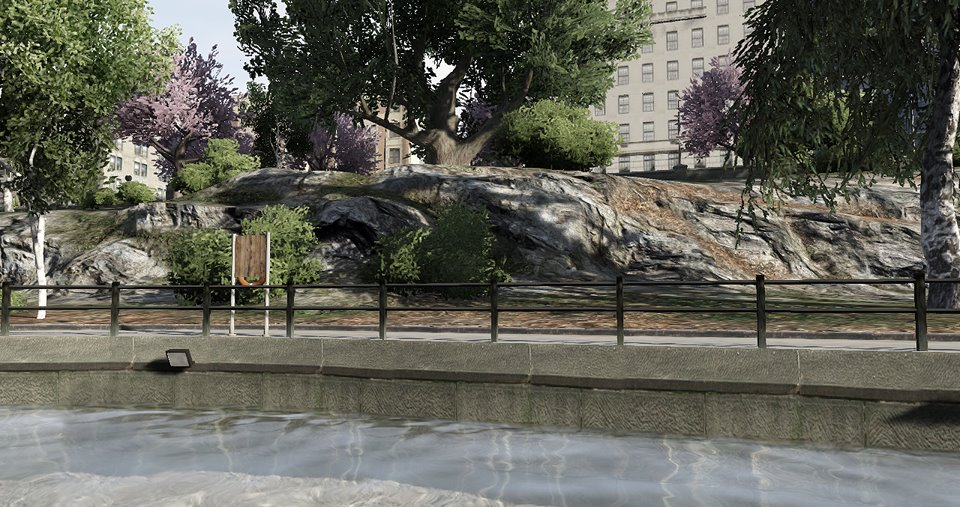 Is this a shot of Liberty City from Grand Theft Auto 5?