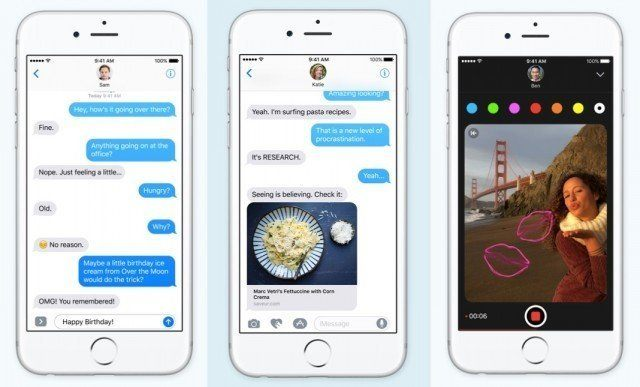 iMessage: Messages in iOS 10