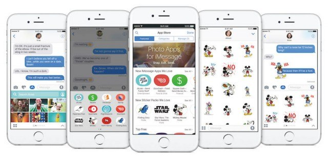 iOS 10 - Photos apps for iMessage