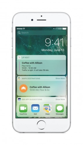 iOS 10 revamped notifications