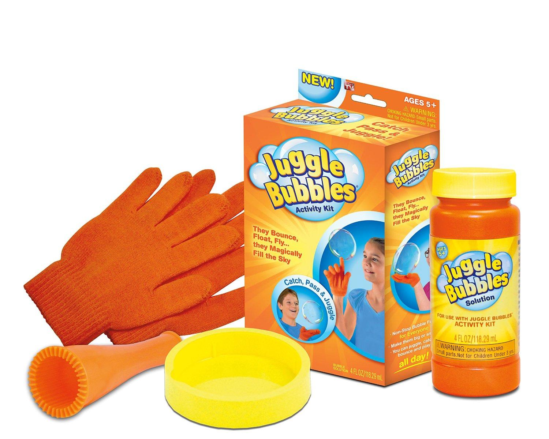 juggle bubbles