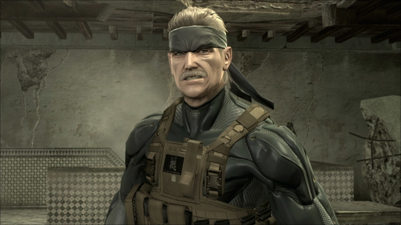 Old Snake from Metal Gear Solid 4.