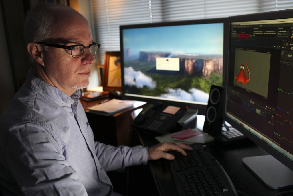 Michael Stocker - Working on Finding Dory