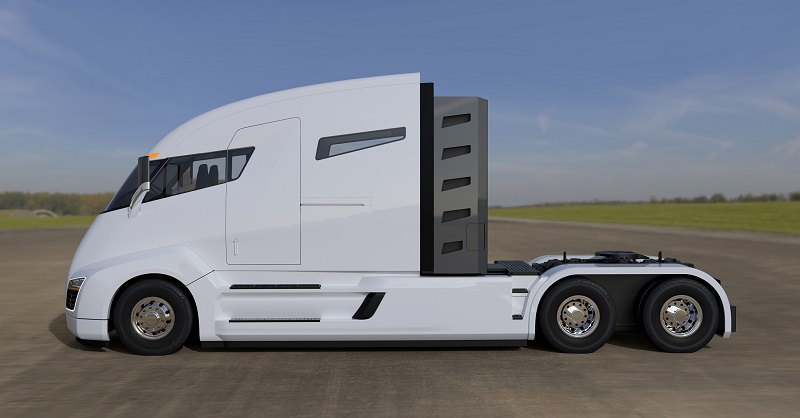 Nikola electric trucks run on natural gas and electricity