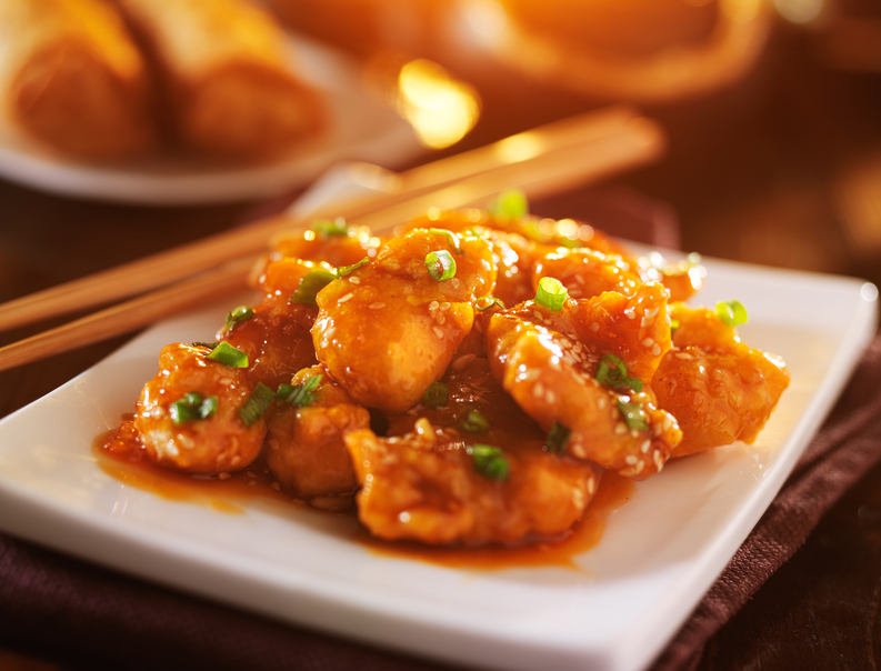 Chinese sesame chicken