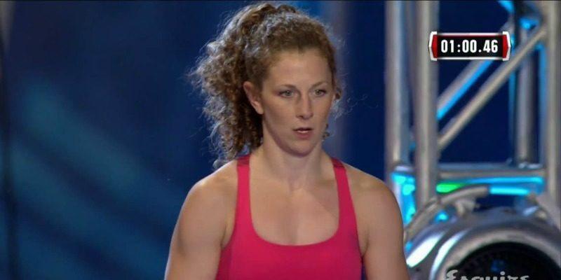 Rachel Goldstein on American Ninja Warrior