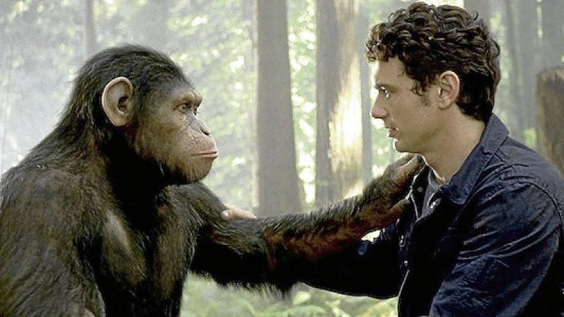 Human-chimp communication in Rise of the Planet of the Apes