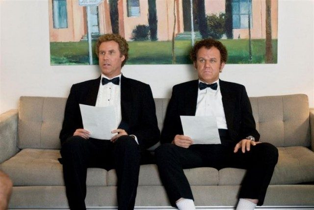 two men waiting for interview