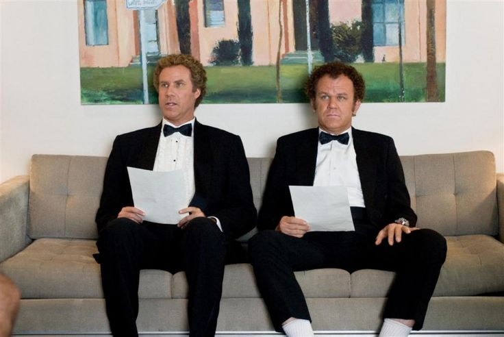 Will Ferrell and John C. Reilly attend a job interview, cover letter in hand, in 'Step Brothers'