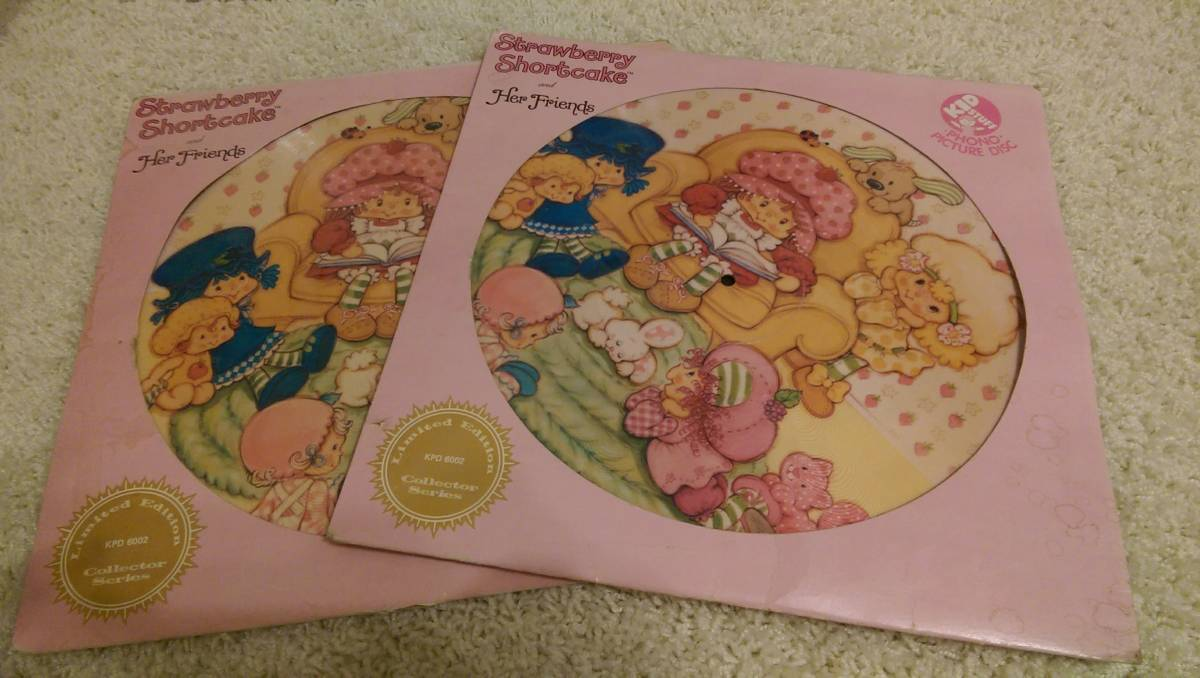 strawberry shortcake record offered on Craigslist Houston