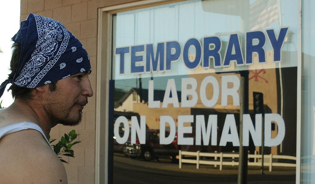 temporary labor office