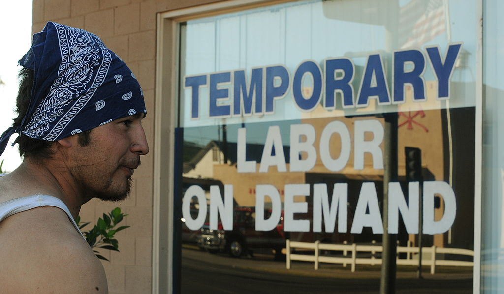 temporary labor office