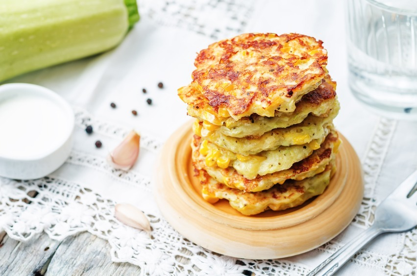 Zucchini Corn Fritters Food Network