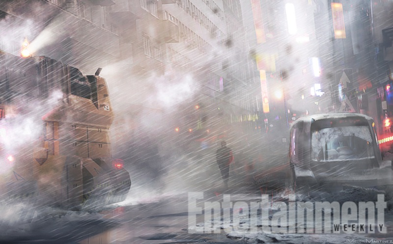 Blade Runner Sequel Concept Art | EW
