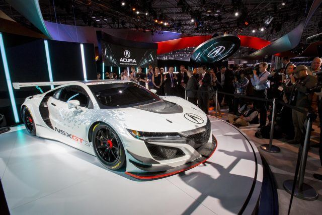 Acura NSX GT3 2016 New York International Auto Show