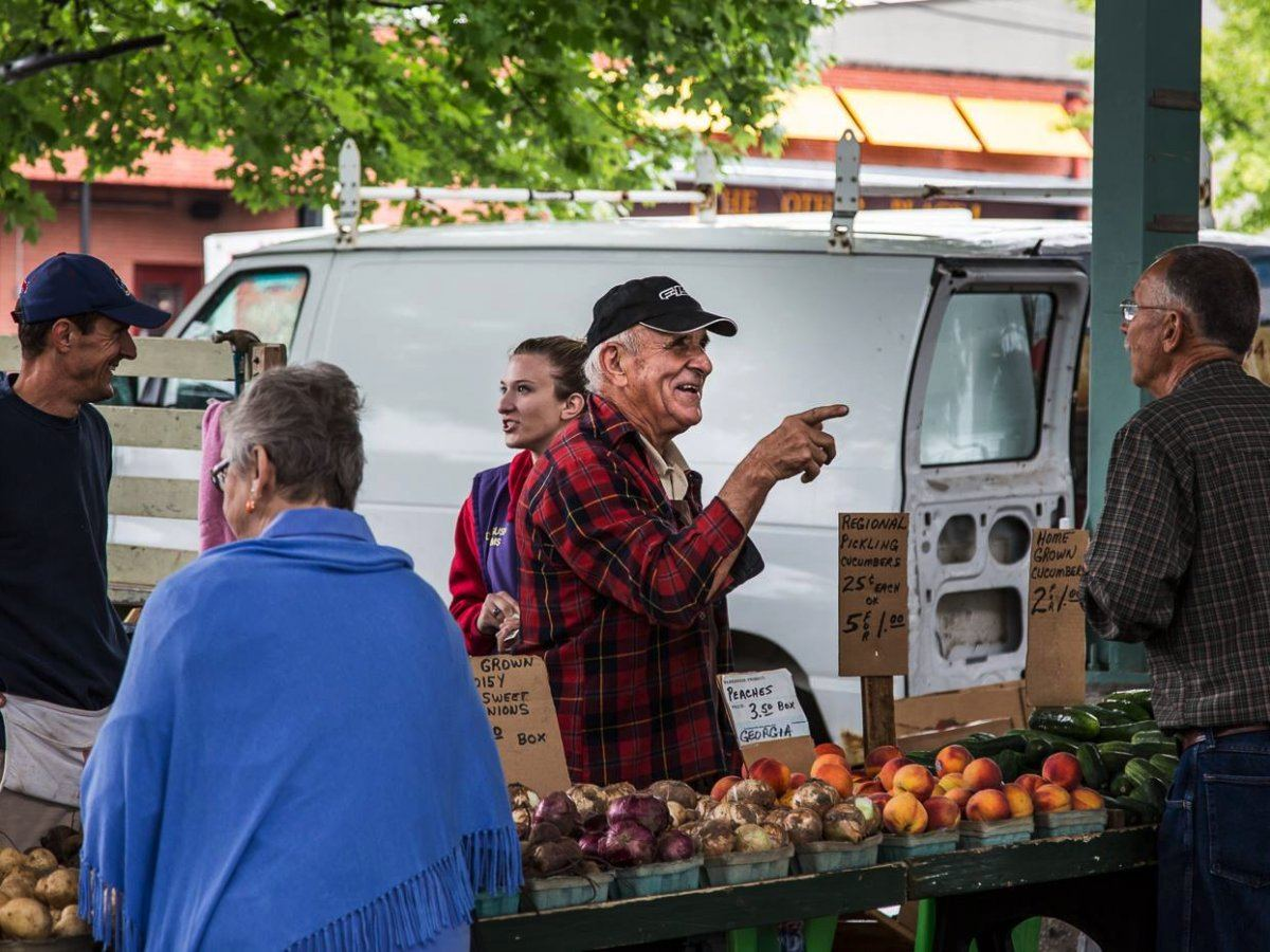 Overland Park holds weekly farmers markets in its historic downtown.Overland Park Farmer's Market/Facebook