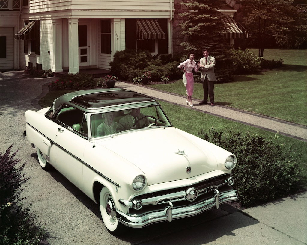 The First Power Hardtop Drop Top Fords 50s Skyliner 1953 Ford Crown Victoria