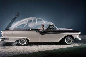 The First Power Hardtop Drop Top: Ford's '50s Skyliner