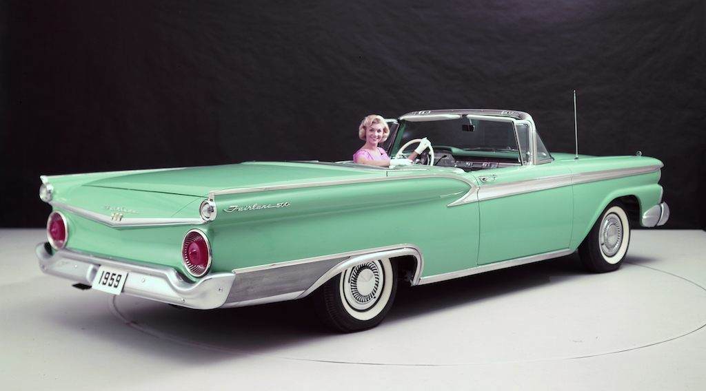 The First Power Hardtop Drop Top: Ford\'s \'50s Skyliner