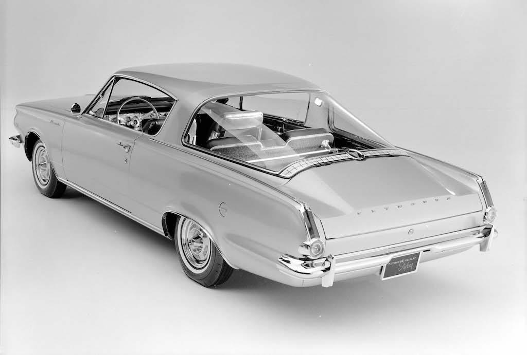 1965 Plymouth Barracuda  Source: Fiat Chrysler Automobiles