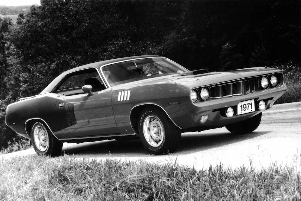 1971 Plymouth Barracuda||Source: Fiat Chrysler Automobiles