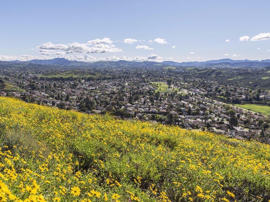 field in Thousand Oaks, California
