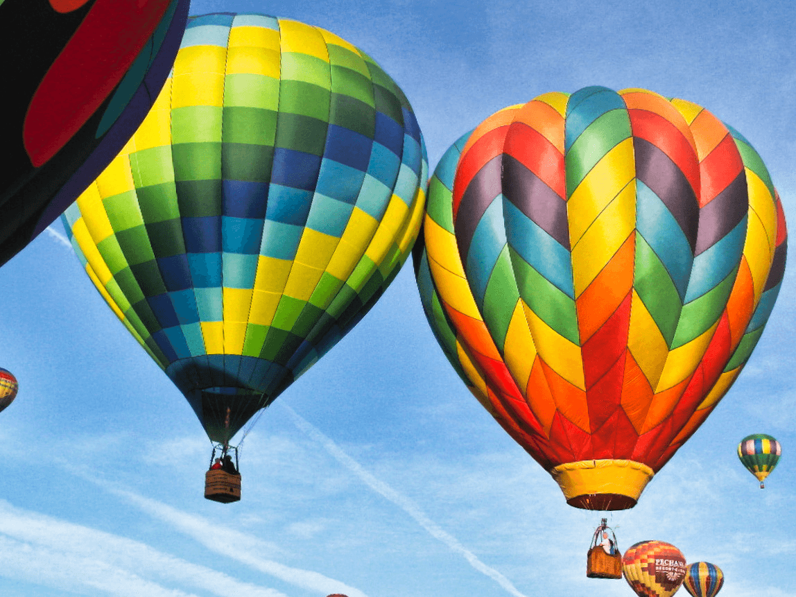 The Temecula Valley Balloon & Wine Festival has attracted visitors to the area for over 30 years. NancyNance/Flickr
