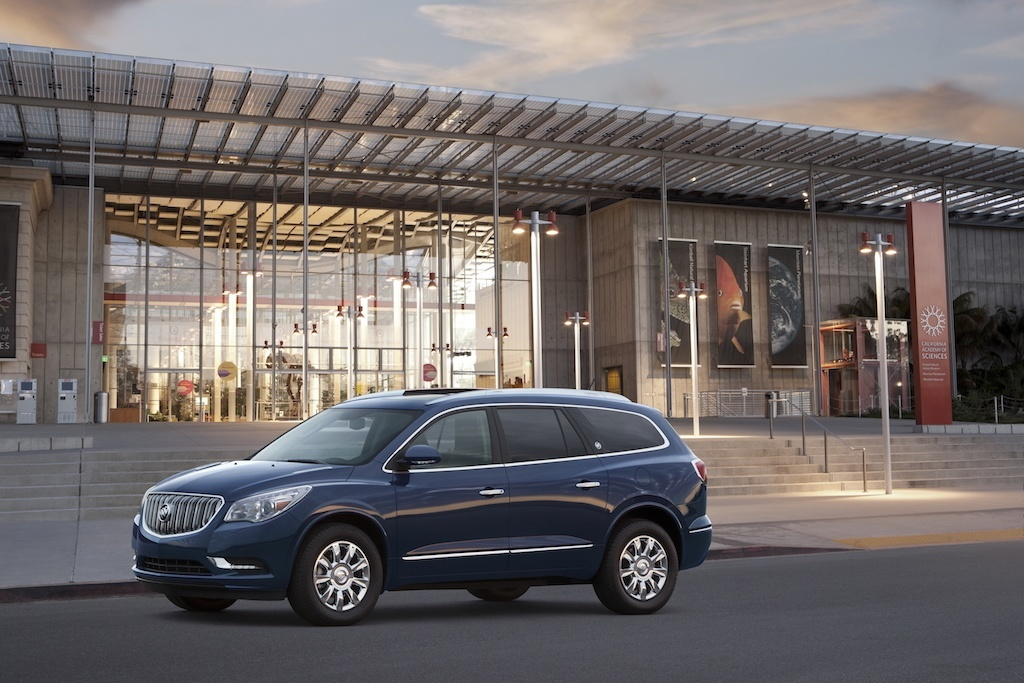 buick enclave vs gmc acadia buy this not that. Black Bedroom Furniture Sets. Home Design Ideas