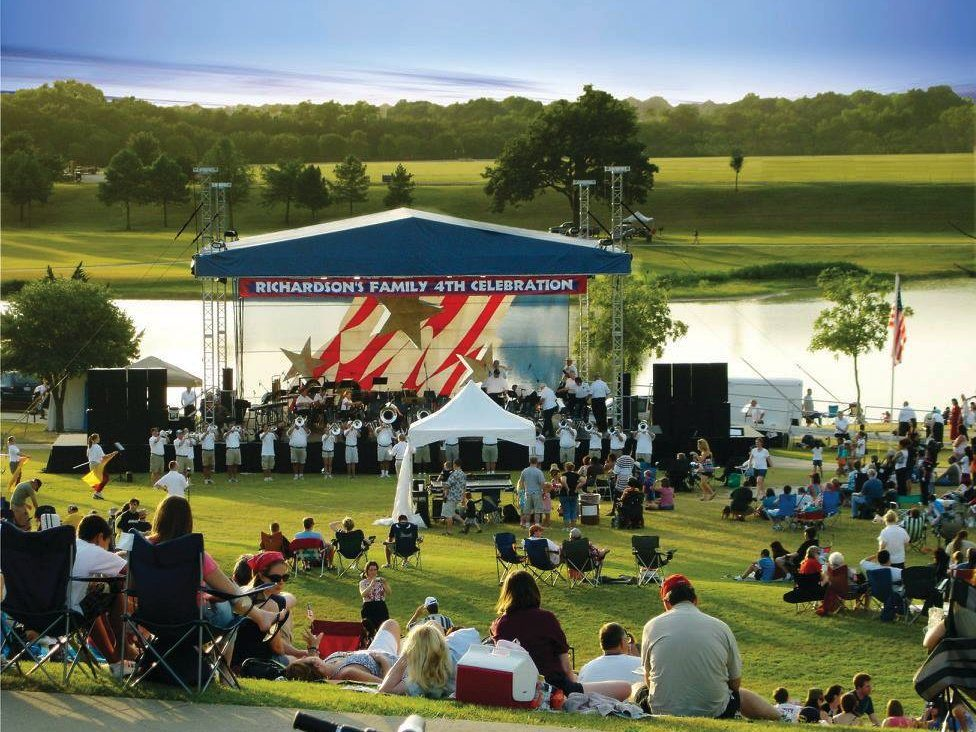 Live music is a favorite pastime in Richardson. City of Richardson Parks & Recreation/Facebook
