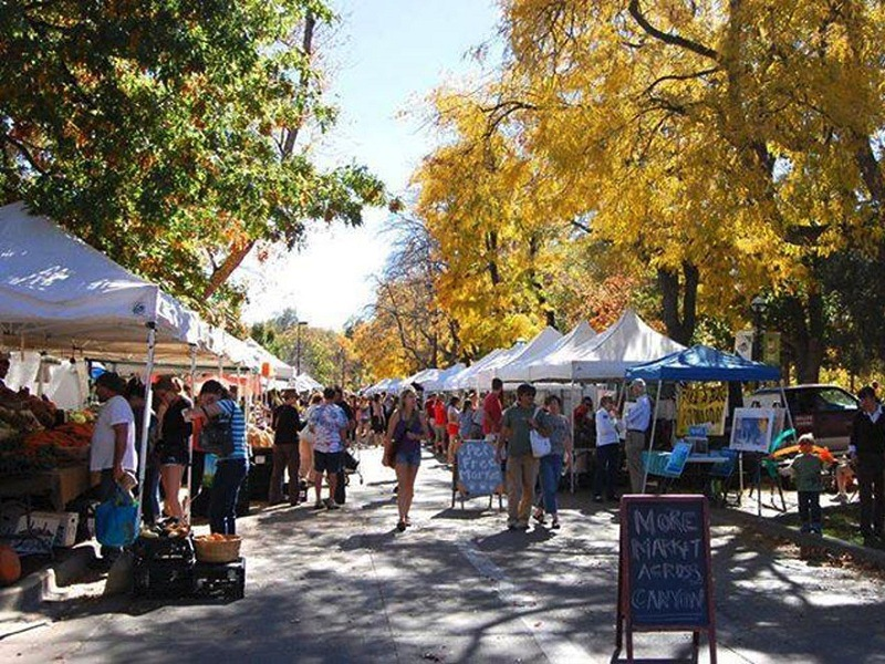 Boulder fosters community through farmers and artisan flea markets throughout the year. City of Boulder Colorado/Facebook