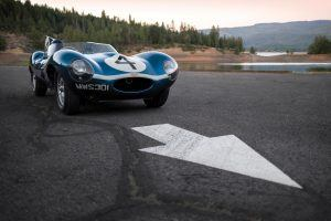 Le Mans-Winning Jaguar D-Type May Set Record at Monterey Auction