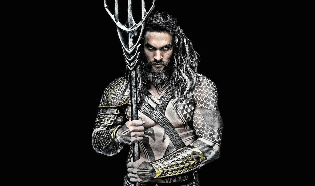 Jason Momoa is Aquaman