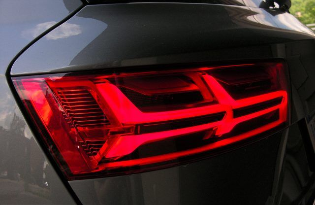 Audi Q7 LED lights