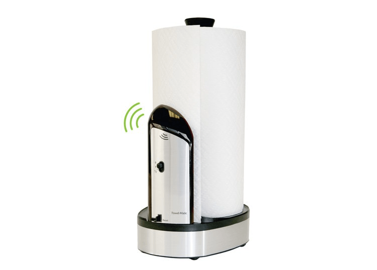 Automatic Paper Towel Dispenser ~ Of the weirdest gadgets you can get at best buy page