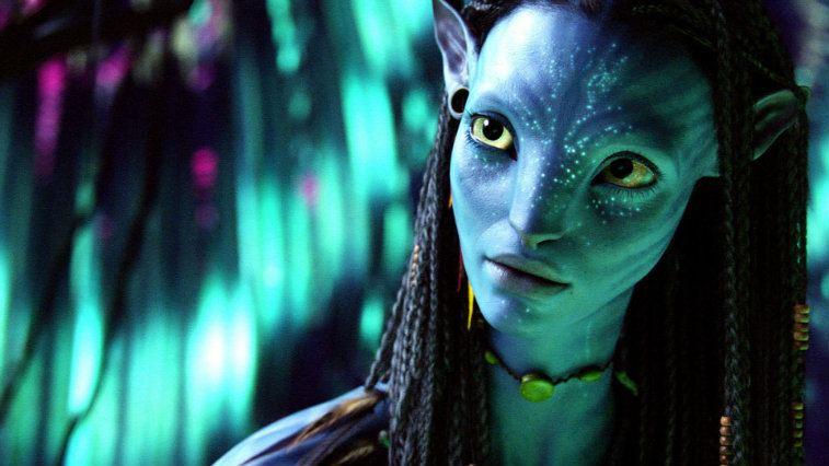 Zoe Saldana in Avatar