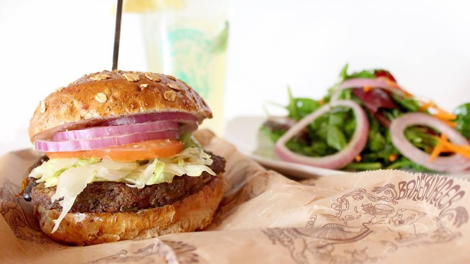 burger from Bareburger