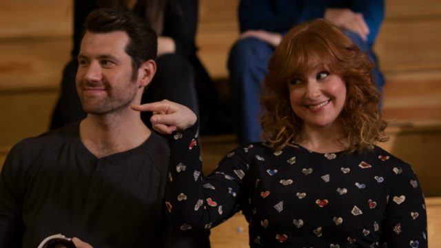 Billy Eichner and Julie Klausner in 'Difficult People'.