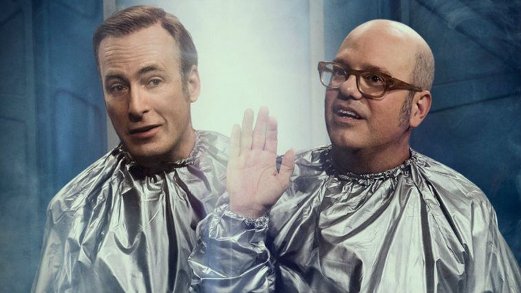 Bob Odenkirk and David Cross in W Bob and David
