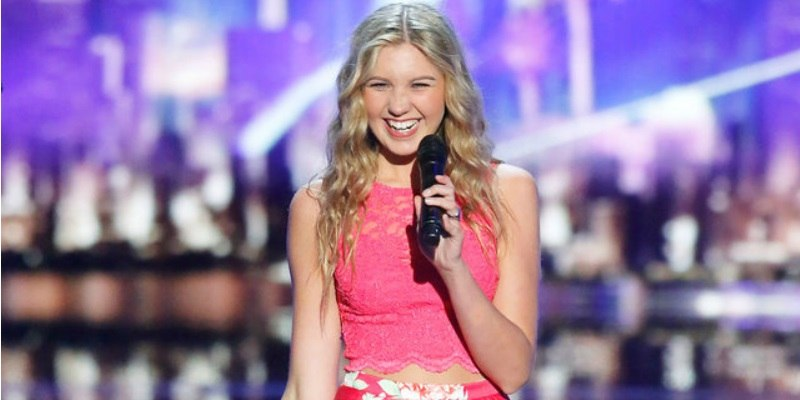 Brennley Brown on America's Got Talent