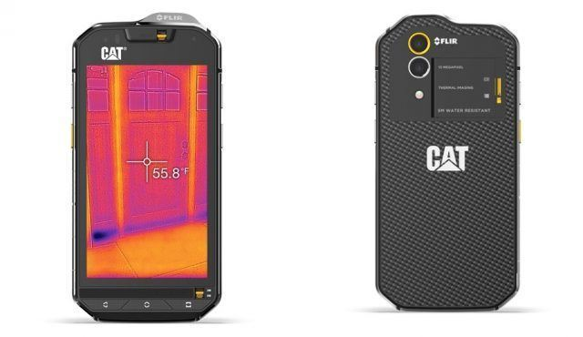 Caterpillar Cat S60 - smartphones that can survive the most abuse