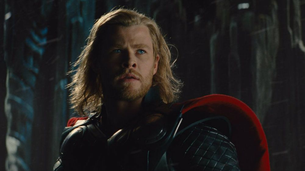 Chris Hemsworth dons armor and a cape in Thor