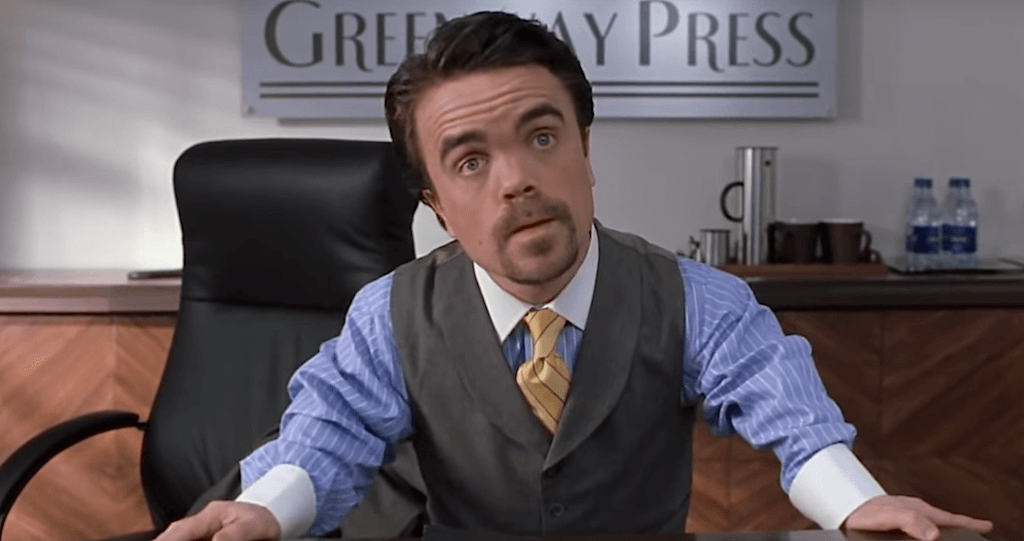 Peter Dinklage in Elf