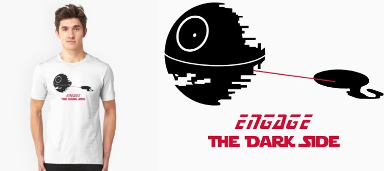 Star Trek Star Wars mashup