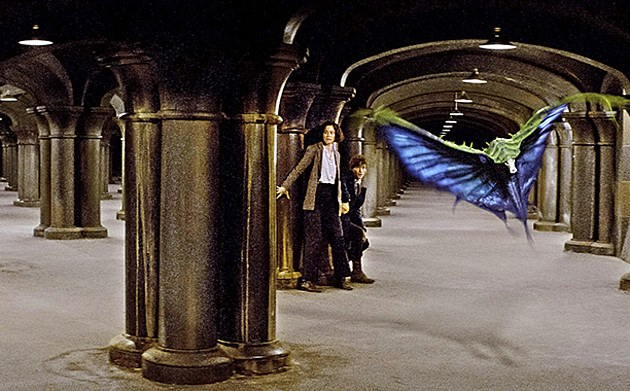 Fantastic Beasts Swooping Evil | Warner Bros. via EW