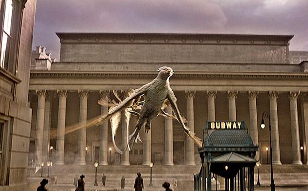 Fantastic Beasts' Thunderbird | Warner Bros. via EW