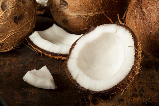 organic brown coconut