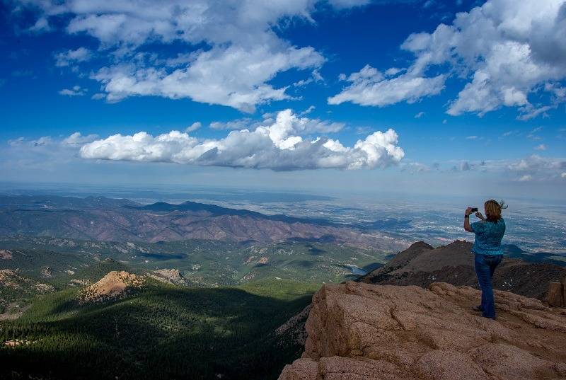Summit of Pike's Peak, near Colorado Springs