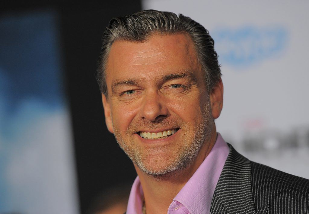 Ray Stevenson smiles for the cameras at an event