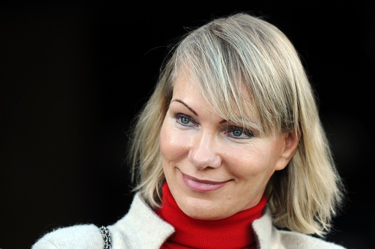 Marseille's club owner Russian Margarita Louis-Dreyfus