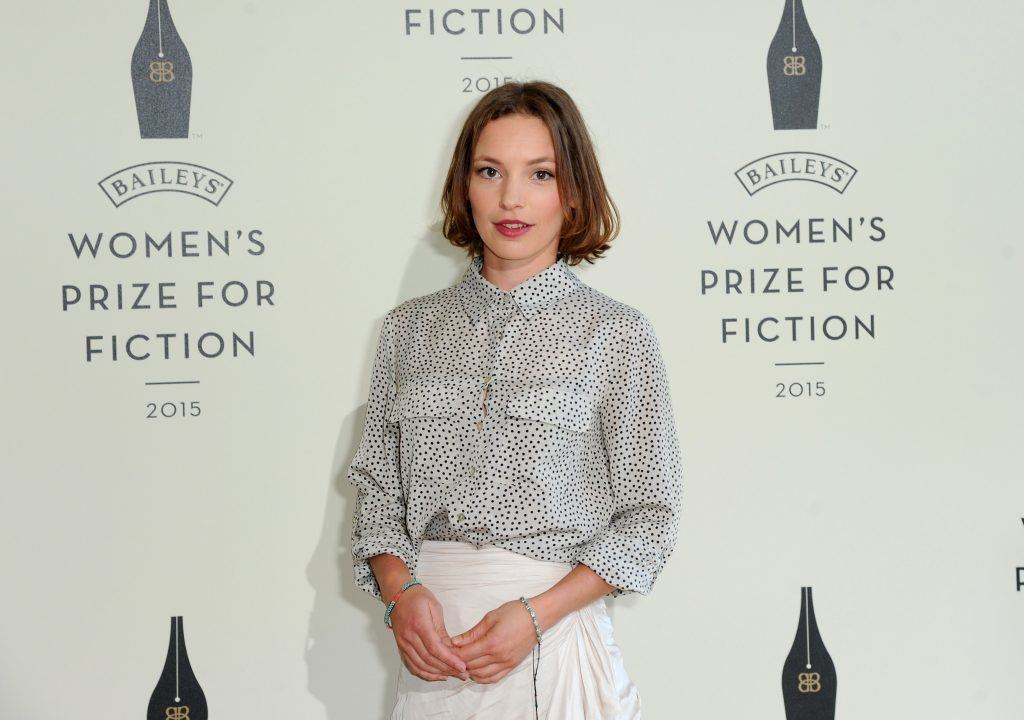Perdita Weeks attends the Women's Prize for Fiction event in 2015